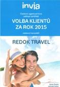 Ocenění - zájezdy Invia Volba klientů 2015